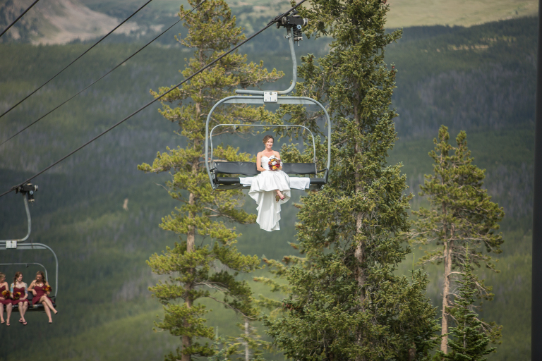 Winter park Bride