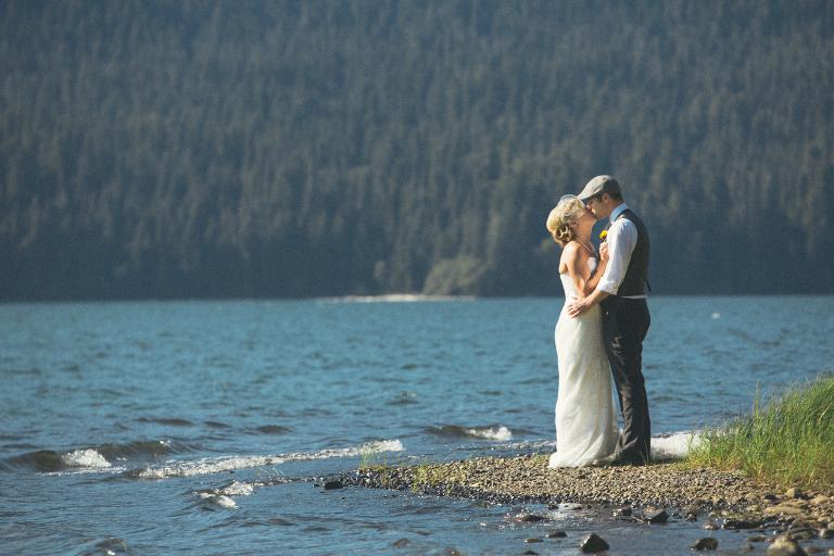 Lake Quinault wedding in Washington State