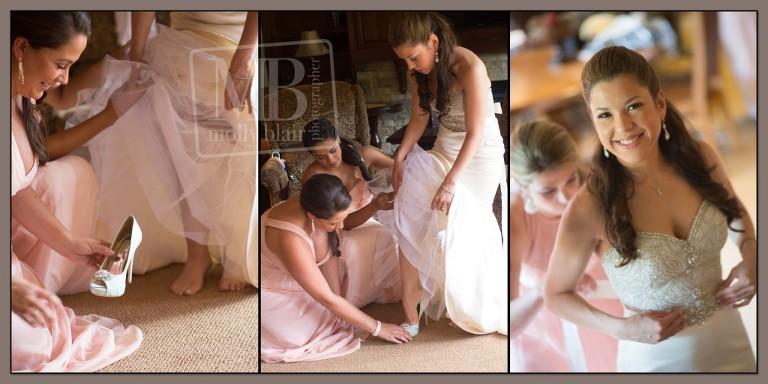 Colorado Bride Getting Ready