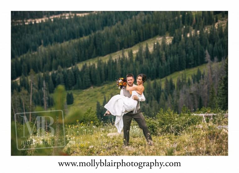 Winter Park Resort Wedding at The Lodge at Sunspot