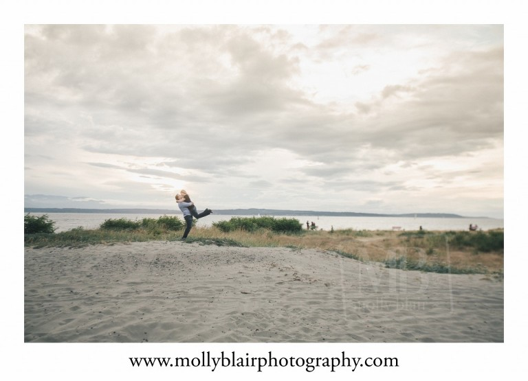 Candid Engagement Photographer in Seattle