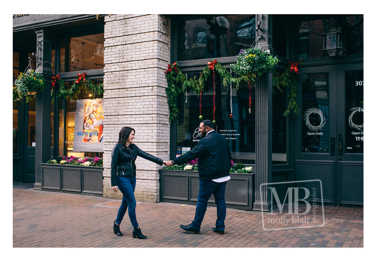 Occidental Square Engagement Session